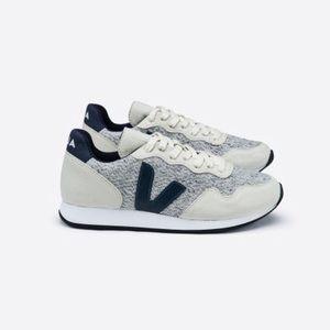 Veja Santos Dumont Vegan Gray Sneaker Flannel
